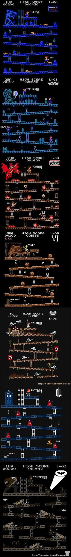 Donkey Kong Invades More Sci-Fi Worlds
