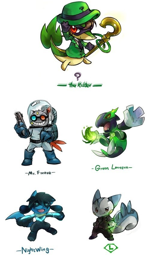 This is What Would Happen if Pokémon Were in the DC Universe