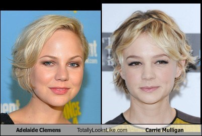 Adelaide Clemens Totally Looks Like Carrie Mulligan