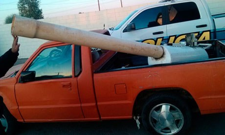D.I.Y Cannons Being Used to Fire Drugs over the U.S. Border