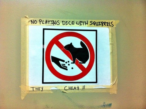 Beware of Cheating Rodents