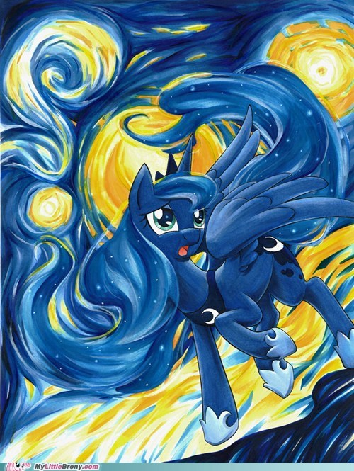 Luna's Starry Night