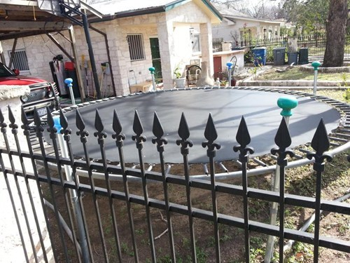 Trampoline Placement is Critical!