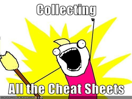 Collecting All the Cheat Sheets