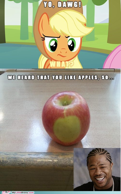 Even Apples Have Cutie Marks