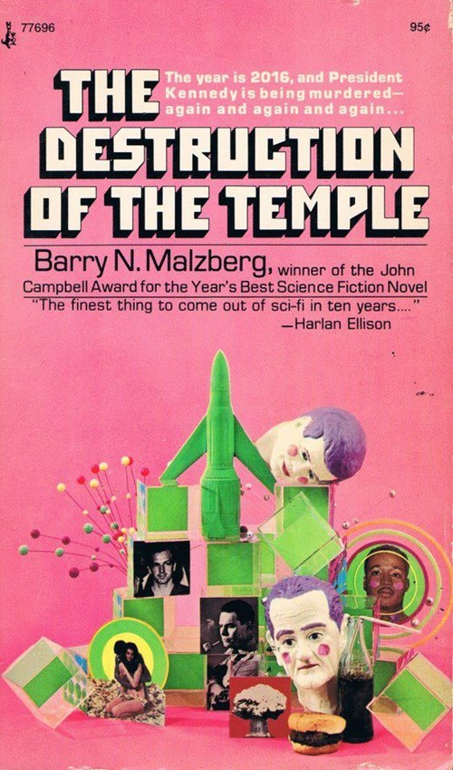 WTF Sci-Fi Book Covers: The Destruction of the Temple