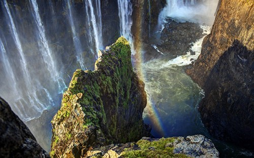 Knife's Edge at Victoria Falls, Zimbabwe