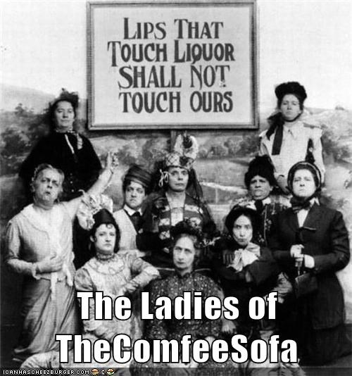 The Ladies of TheComfeeSofa