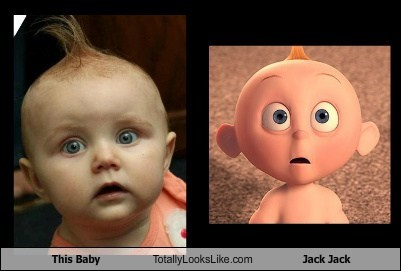 This Baby Totally Looks Like Jack Jack