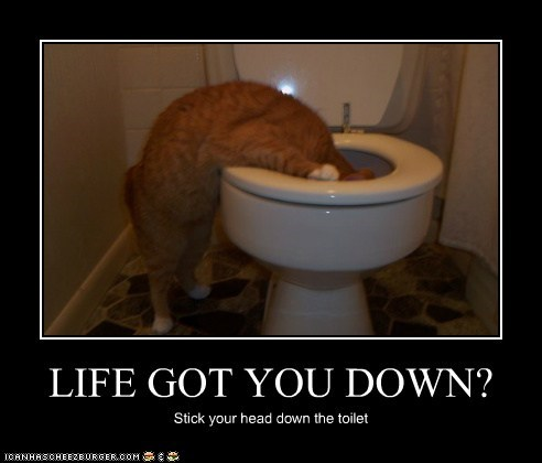 LIFE GOT YOU DOWN?