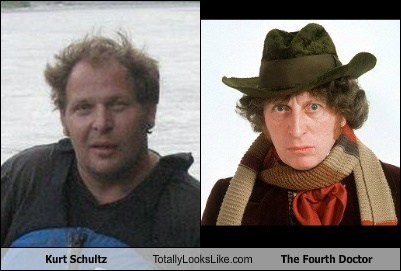 Kurt Schultz Totally Looks Like The Fourth Doctor