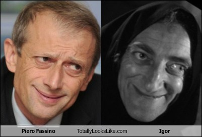 Piero Fassino Totally Looks Like Igor