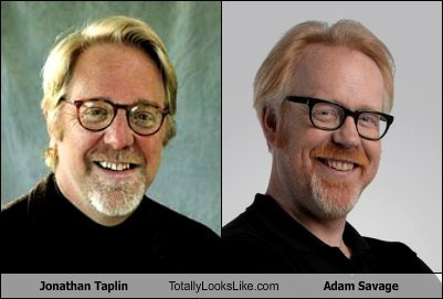 Jonathan Taplin Totally Looks Like Adam Savage