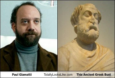 Paul Giamatti Totally Looks Like This Ancient Greek Bust
