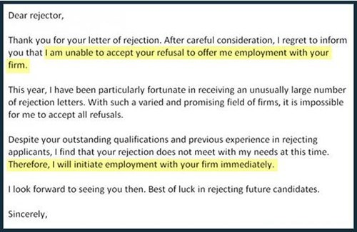 The Anti-Rejection
