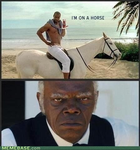 Why's He on That Horse?