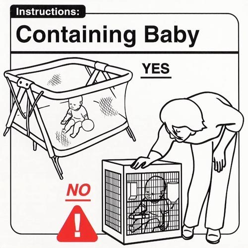 Oh!... DON'T Put Baby in a Cage