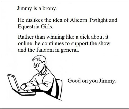 Good on you, Jimmy