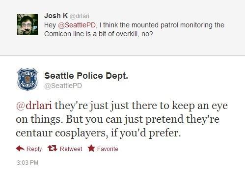 Centaur Police