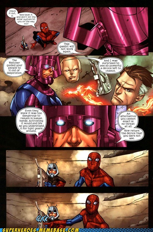 Never Call Spidey's Bluff
