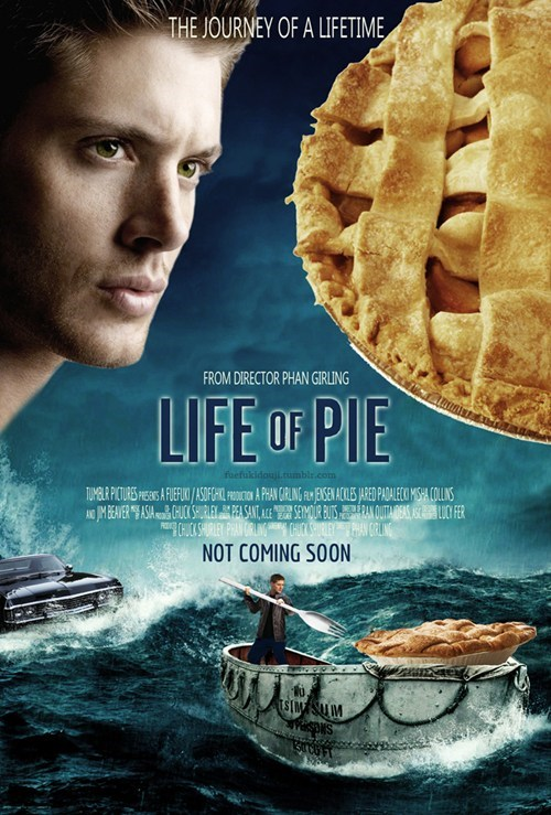 crossover,life of pi,Supernatural,pie