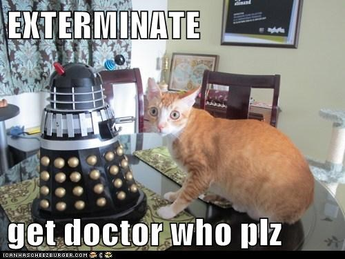 EXTERMINATE  get doctor who plz