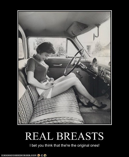 REAL BREASTS