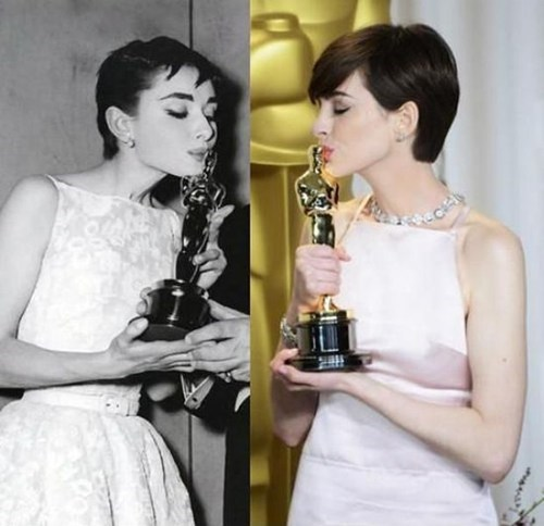 Audrey Hepburn Totally Looks Like Anne Hathaway