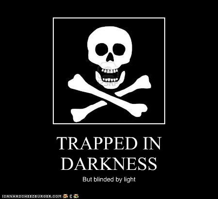 TRAPPED IN DARKNESS