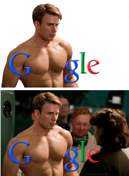 captain america,chris evans,google