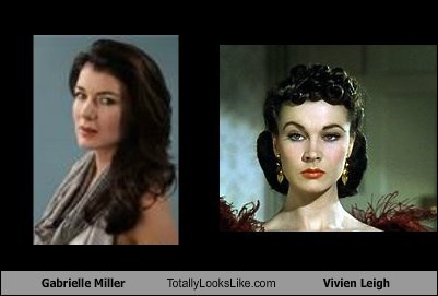 Gabrielle Miller Totally Looks Like Vivien Leigh