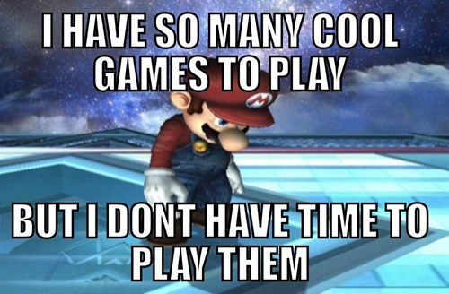 First World Video Game Problems