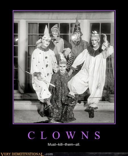 scary,clowns,horrible