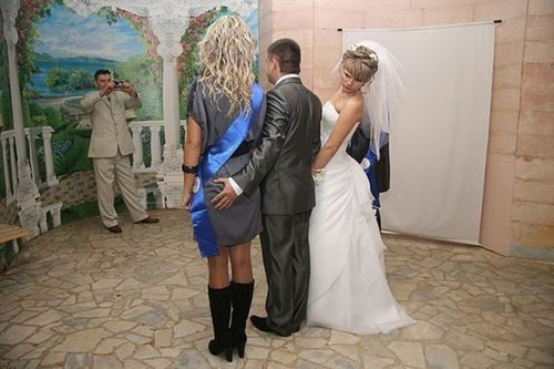 bride,groom,grab,grope