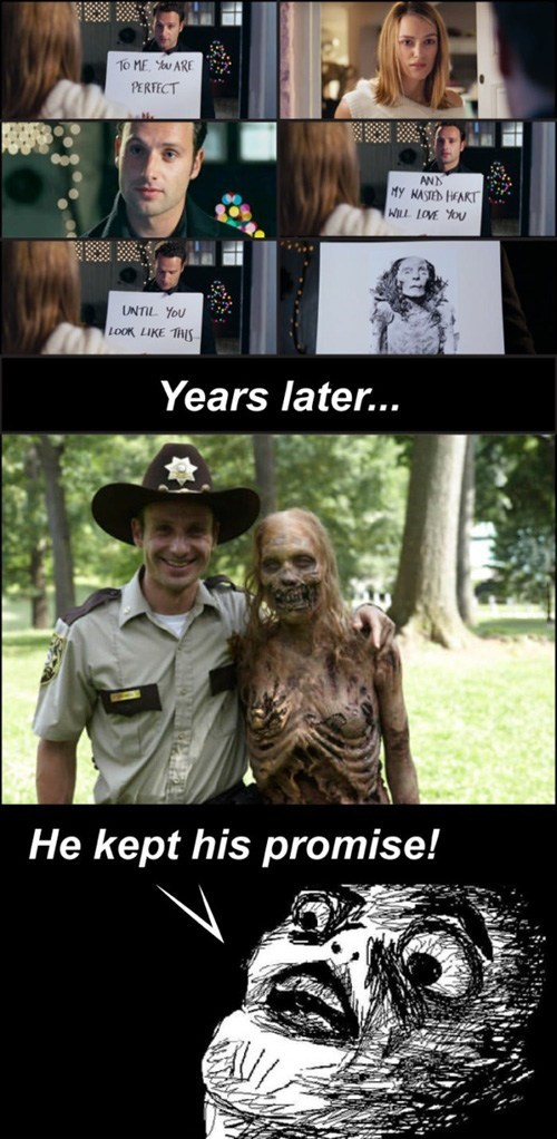 Rick Grimes,Keira Knightley,zombie,Andrew Lincoln,love actually,The Walking Dead