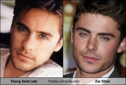 Young Jaret Leto Totally Looks Like Zac Efron