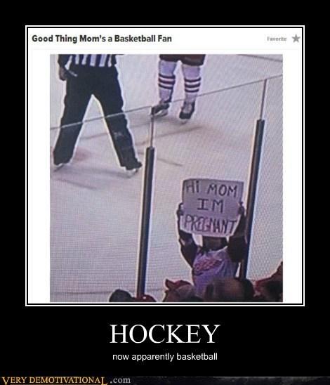 sports,hockey,basketball,pregnant