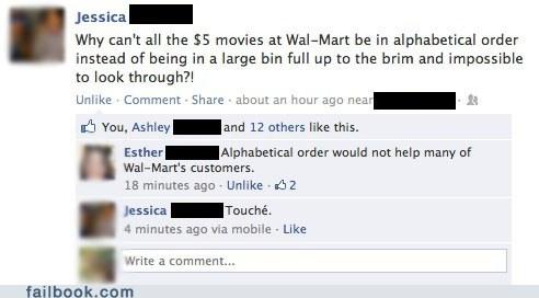dvds,movies,alphabetical order,Walmart,failbook,g rated