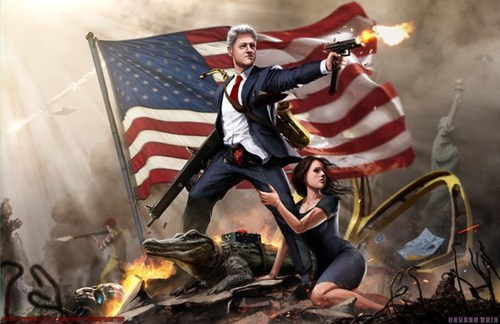 'Murican Pride of the Day: Bill Clinton the Lady Killer
