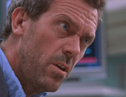 Did You Ever Notice Hugh Laurie's Tiny Nose Above His Normal Nose?