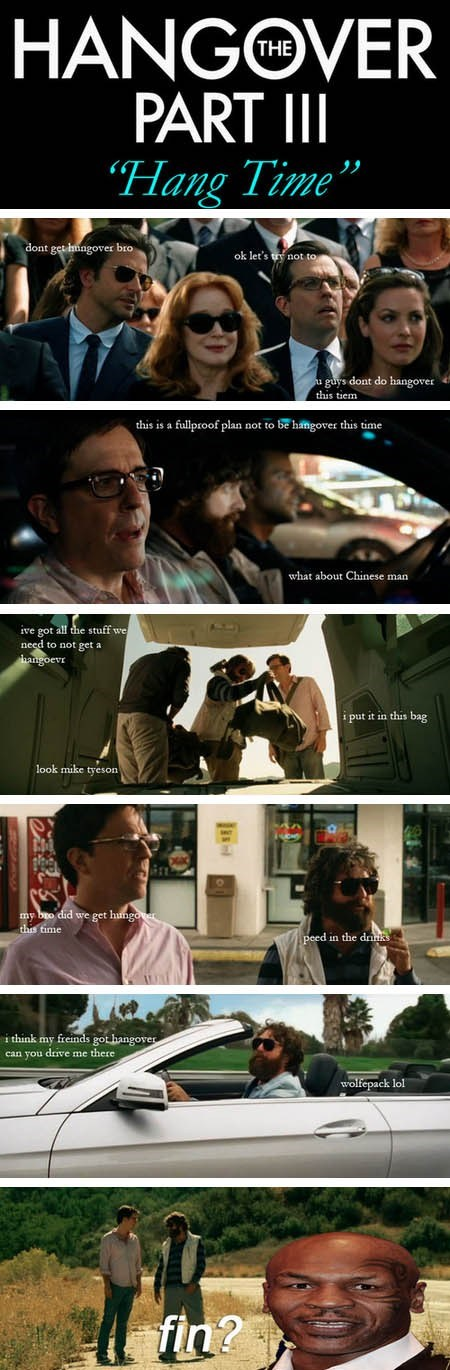 """The Hangover III"" Completely Summarized From the Movie Trailer"