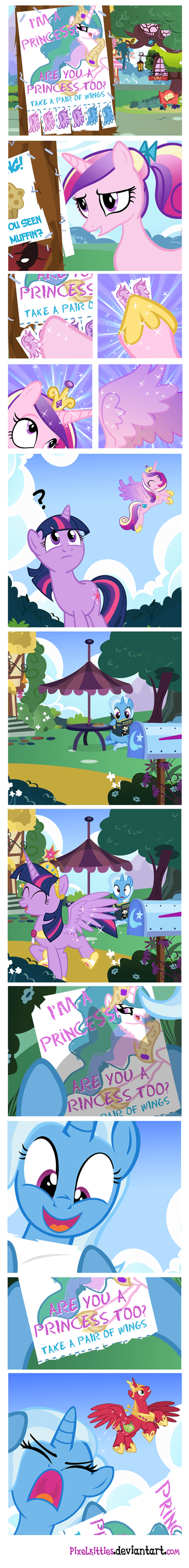 trixie,comics,big mac,princesses
