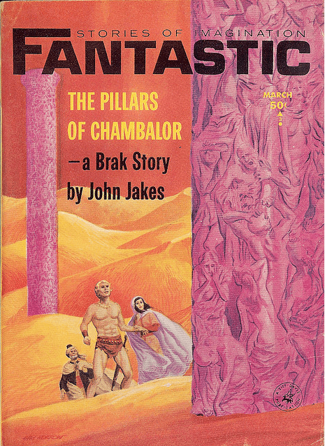 WTF Sci-Fi Book Covers: The Pillars of Chambalor