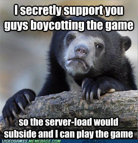 SimCity,EA,Memes,Confession Bear