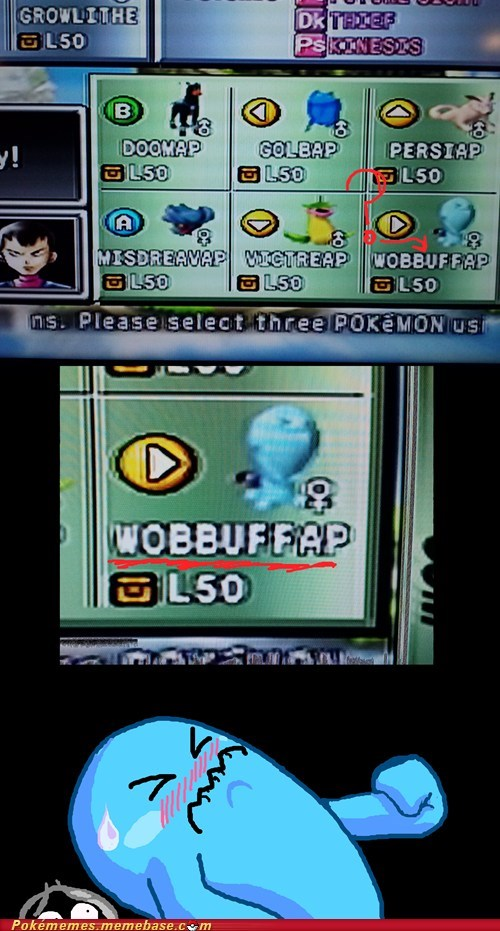 Pokémon Stadium 2 Name Randomizer Likes it Frisky