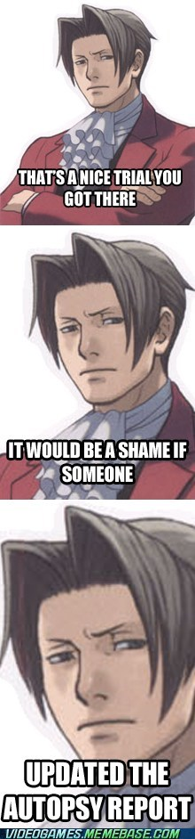 Goddammit Edgeworth