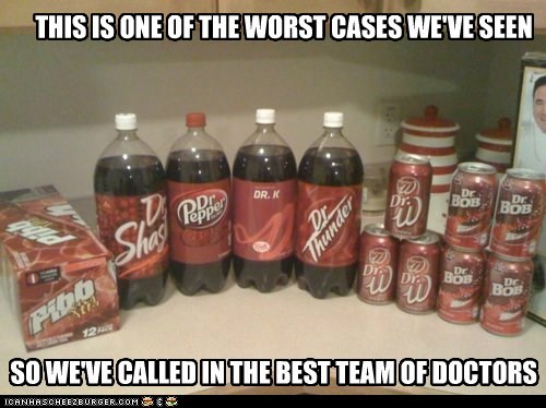 SO WE'VE CALLED IN THE BEST TEAM OF DOCTORS