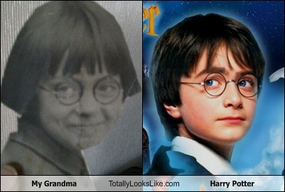My Grandma Totally Looks Like Harry Potter