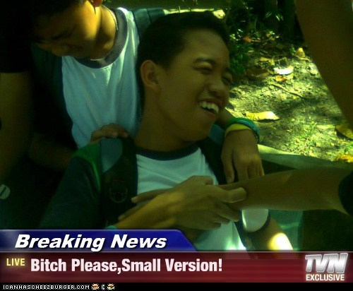Breaking News - Bitch Please,Small Version!