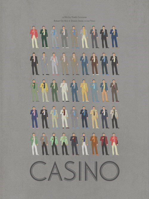 "All the Suits Worn by Robert De Niro in ""Casino"""